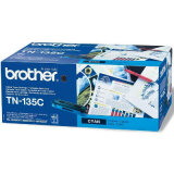 Original Toner Cartridge Brother TN-135C (TN135C) (Cyan) for Brother MFC-9440 CN
