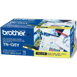 Original Toner Cartridge Brother TN-135Y (TN135Y) (Yellow) for Brother MFC-9440 CN