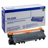 Original Toner Cartridge Brother TN-2320 (TN2320) (Black) for Brother DCP-L2500 D