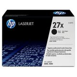 Original Toner Cartridge HP 27X (C4127X) (Black) for HP LaserJet 4000 T