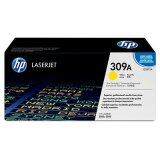 Original Toner Cartridge HP 309A (Q2672A) (Yellow) for HP Color LaserJet 3550