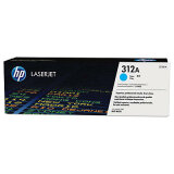 Original Toner Cartridge HP 312A (CF381A) (Cyan) for HP Color LaserJet Pro M476 DW