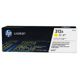 Original Toner Cartridge HP 312A (CF382A) (Yellow) for HP Color LaserJet Pro M476 DW