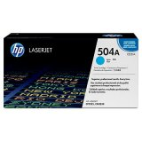 Original Toner Cartridge HP 504A (CE251A, CE251YC) (Cyan) for HP Color LaserJet CP3525 DN