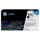 Original Toner Cartridge HP 504X (CE250X, CE250YC) (Black) for HP Color LaserJet CP3525 DN