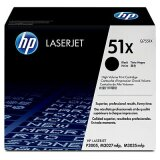 Original Toner Cartridge HP 51X (Q7551X) (Black) for HP LaserJet P3005 X