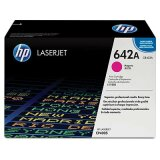 Original Toner Cartridge HP 642A (CB403A) (Magenta) for HP Color LaserJet CP4005 DN