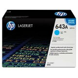 Original Toner Cartridge HP 643A (Q5951A) (Cyan) for HP Color LaserJet 4700 N