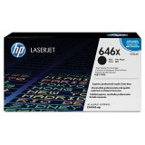 Original Toner Cartridge HP 646X (CE264X) (Black) for HP Color LaserJet Enterprise CM4540 F MFP