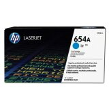 Original Toner Cartridge HP 654A (CF331A) (Cyan) for HP LaserJet Enterprise M651 DN