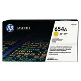 Original Toner Cartridge HP 654A (CF332A) (Yellow) for HP LaserJet Enterprise M651 DN