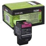 Original Toner Cartridge Lexmark 702M (70C20M0) (Magenta)