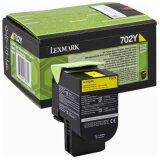 Original Toner Cartridge Lexmark 702Y (70C20Y0) (Yellow)