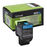 Original Toner Cartridge Lexmark 802SC (80C2SC0) (Cyan)