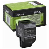 Original Toner Cartridge Lexmark 802SK (80C2SK0) (Black)