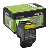 Original Toner Cartridge Lexmark 802SY (80C2SY0) (Yellow) for Lexmark CX410 DTE