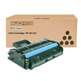 Original Toner Cartridge Ricoh SP201HE (407254) (Black)