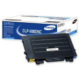 Original Toner Cartridge Samsung CLP-500D5C (Cyan) for Samsung CLP-550