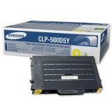 Original Toner Cartridge Samsung CLP-500D5Y (Yellow) for Samsung CLP-500