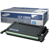 Original Toner Cartridge Samsung CLP-C600A (Cyan) for Samsung CLP-600 N