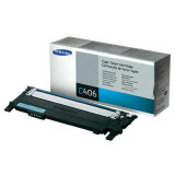 Original Toner Cartridge Samsung CLT-C406S (ST984A) (Cyan) for Samsung Xpress SL-C460 W