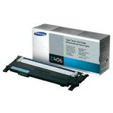 Original Toner Cartridge Samsung CLT-C406S (ST984A) (Cyan) for Samsung CLX-3305