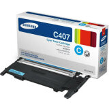 Original Toner Cartridge Samsung CLT-C4072S (ST994A) (Cyan) for Samsung CLP-320 N