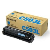 Original Toner Cartridge Samsung CLT-C503L (SU014A) (Cyan) for Samsung ProXpress SL-C3010 ND