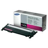 Original Toner Cartridge Samsung CLT-M406S (SU252A) (Magenta) for Samsung CLX-3300