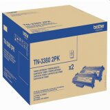 Original Toner Cartridges Brother TN-3380 (TN3380TWIN) (Black) for Brother MFC-8520 DN