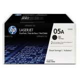 Original Toner Cartridges HP 05A (CE505AD) (Black) for HP LaserJet P2050