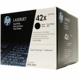 Original Toner Cartridges HP 42X (Q5942XD) (Black) for HP LaserJet 4350