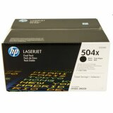 Original Toner Cartridges HP 504X (CE250XD) (Black) for HP Color LaserJet CM3530 FS MFP