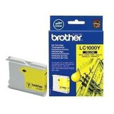 Original Ink Cartridge Brother LC-1000 Y (LC1000Y) (Yellow) for Brother DCP-770 CW