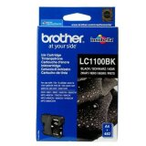 Original Ink Cartridge Brother LC-1100 BK (LC1100BK) (Black) for Brother DCP-395 CN