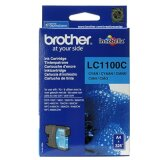Original Ink Cartridge Brother LC-1100 C (LC1100C) (Cyan) for Brother DCP-395 CN