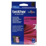 Original Ink Cartridge Brother LC-1100 M (LC1100M) (Magenta) for Brother DCP-395 CN