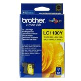 Original Ink Cartridge Brother LC-1100 Y (LC1100Y) (Yellow) for Brother DCP-395 CN