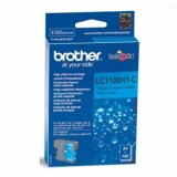 Original Ink Cartridge Brother LC-1100HY C (LC1100HYC) (Cyan) for Brother DCP-395 CN