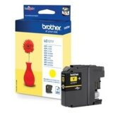 Original Ink Cartridge Brother LC-121 Y (LC121Y) (Yellow) for Brother MFC-J650 DW
