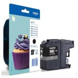 Original Ink Cartridge Brother LC-123 BK (LC123BK) (Black) for Brother DCP-J552 DW