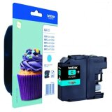 Original Ink Cartridge Brother LC-123 C (LC123C) (Cyan) for Brother DCP-J552 DW