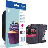Original Ink Cartridge Brother LC-123 M (LC123M) (Magenta)
