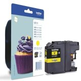 Original Ink Cartridge Brother LC-123 Y (LC123Y) (Yellow)