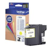 Original Ink Cartridge Brother LC-223 Y (LC223Y) (Yellow) for Brother DCP-J562 DW