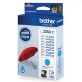 Original Ink Cartridge Brother LC-225 XL C (LC225XLC) (Cyan)