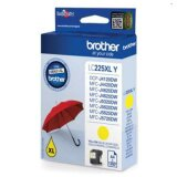 Original Ink Cartridge Brother LC-225 XL Y (LC225XLY) (Yellow) for Brother MFC-J5625 DW