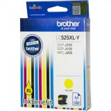 Original Ink Cartridge Brother LC-525 XL Y (LC525XLY) (Yellow) for Brother MFC-J200