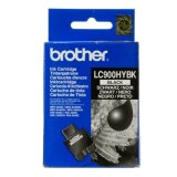 Original Ink Cartridge Brother LC-900 XL BK (LC900HY-BK) (Black) for Brother MFC-410 CN