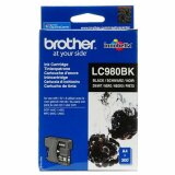 Original Ink Cartridge Brother LC-980 BK (LC980BK) (Black) for Brother DCP-375 CW
